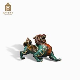 故宫博物院 神武貔貅摆件