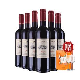 法国莫堡经典红葡萄酒750ml*6