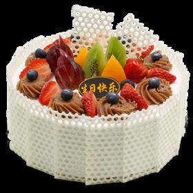 莓栗盛宴-法式栗茸生日蛋糕
