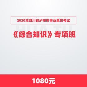 2020年四川省泸州市事业单位考试《综合知识》专项班