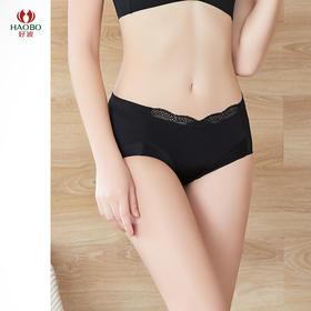 好波女士中低腰包臀舒适蕾丝内裤HD2011文胸配套内裤