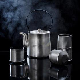 陶溪川 景德镇新中式提梁壶镀银茶具套装