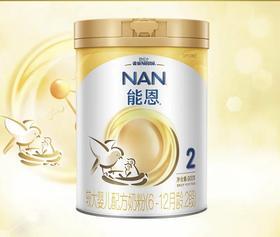 雀巢能恩 2段 较大婴儿配方奶粉(6-12个月)900克