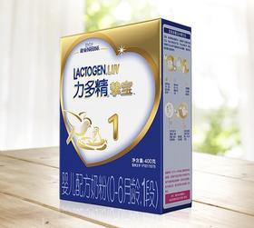 雀巢挚宝力多精1段婴儿配方奶粉0-6月适用400g 盒装