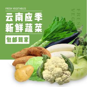 【顺丰包邮 现摘现发】农家新鲜蔬菜5斤
