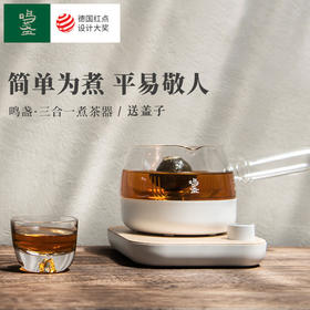 【煮茶比泡茶好喝百倍】鸣盏2018红点奖三合一煮茶器