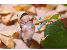 潮玩手办《白夜童话-猫将军》贾晓鸥 8×6.4×3.4cm