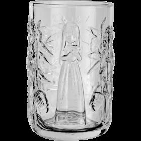浮雕水杯《丛林迷航晚安兔-玲珑杯-白》贾晓鸥 7.5×13cm
