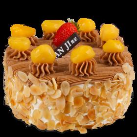 坚果巧心-法式栗茸生日蛋糕