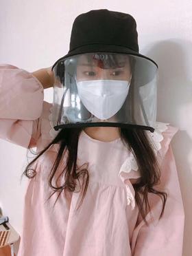 【防飞沫 全脸防护】vvc渔夫帽带防护罩
