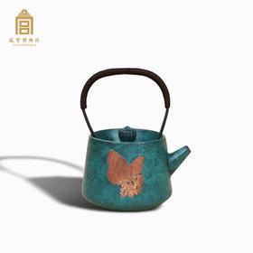 故宫博物院 万紫千红蝴蝶茶壶