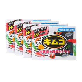 小林制药 冰箱去味剂 冷藏室用 113g*4盒组