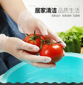 食品级PVC一次性手套 健康环保卫生 佩戴舒适 避免接触传染