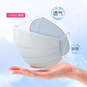 【预售到2月24日,数量有限,每人限购5盒】乐培氏 一次性口罩垫 50片装 增加口罩使用次数 保持口罩内部卫生 舒适透气