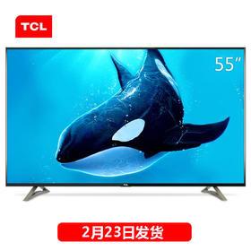 TCL D55A620U 55英寸观影王 4K十核安卓智能网络LED液晶平板电视机