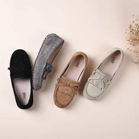 澳洲真皮豆豆鞋 显瘦舒服,踩在云朵一样柔软
