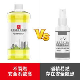 领臣二氧化氯医用消毒液 1L 有效杀菌 有效消毒 安全配方