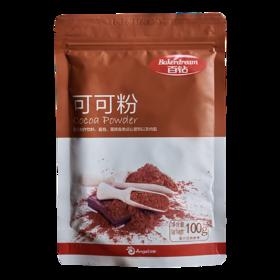 百钻可可粉100g 进口冲饮巧克力粉 提拉米苏装饰材料烘焙蛋糕原料