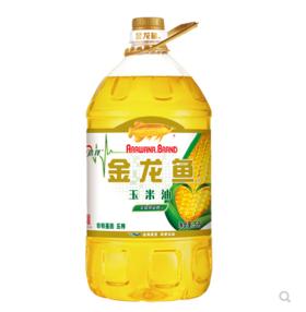【安全配送】金龙鱼玉米油5L