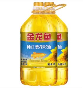【安全配送】金龙鱼葵花籽油5L