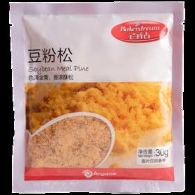 百钻豆粉松30g 猪肉松 肉松 烘焙寿司专用食材 蛋糕面包肉松做寿司材料