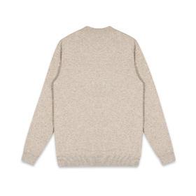 男装2019冬季新款加厚半高领毛衣男士青年套头针织衫潮2321