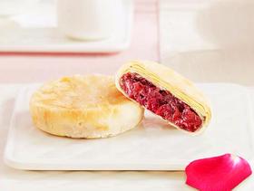 云南玫瑰鲜花饼(半打·6个)