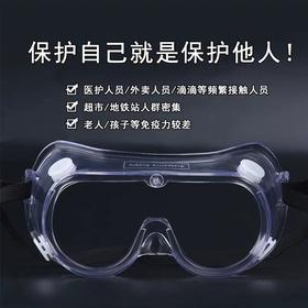 Kingsafe防飞沫唾沫防雾防护面屏护脸面罩透明护脸镜片