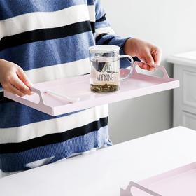 北欧ins风托盘简约大号小号实用长方形水杯茶几杯收纳盘水果托盘