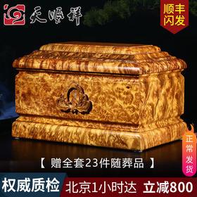缅怀 黄金樟木骨灰盒