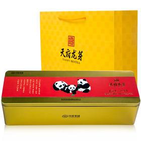 【川茶集团】天府龙芽四川原产特级工夫红茶(冠龙)熊猫礼盒 108g!