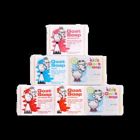 Goat澳洲进口羊奶皂6块装 滋润保湿 深层补水 护肤香体