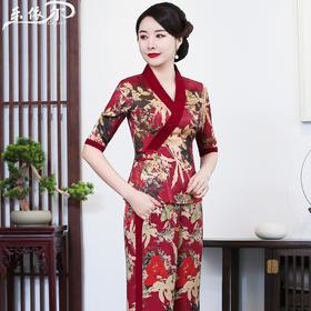 LYE-2033春夏季改良丝质汉服套装TZF