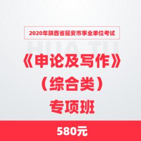 2020年陕西省延安市事业单位考试《申论及写作》(综合类)专项班