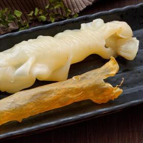 野生天然黄花鱼干花胶100g 弹滑软糯、微甜无腥味