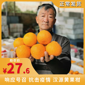 【响应号召 抗击疫情】助力汉源黄果柑 让好水果走出大山 城市里的人都能吃到皮薄无籽 酸甜爽口的果子