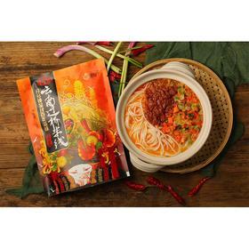 云南过桥米线 袋装速食 酸辣味 鸡汤味  270g/包 3袋装包邮