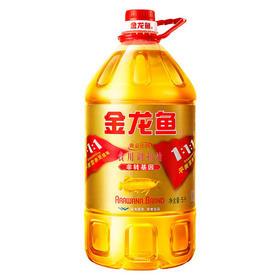 金龙鱼 1:1:1调和油 5L 黄金比例食用油 金装 非转基因-865201