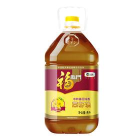 福临门 纯香菜籽油 5L 食用油 非转基因 中粮出品-873301