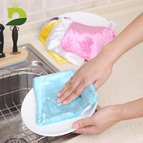 【厨房清洁黑科技木纤抹布】纯松木纤维面料,厨房油污克星,免洗洁精,30秒祛除厨房油垢、污渍,速干不潮湿,长效抑箘防臭!