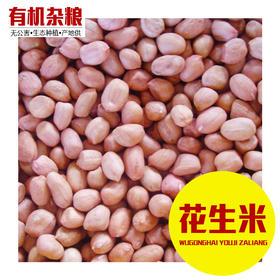 花生米 2斤装 有机花生仁 杂粮粗粮 坚果-865301