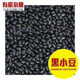 黑小豆 350克装 优级黑豆农家自产小黑豆雄黑豆肾形黑豆-865307