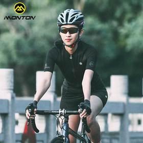 Monton18新行者骑行服 夏季短袖上衣 透气休闲