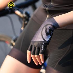 monton脉腾骑行手套半指 透气健身运动