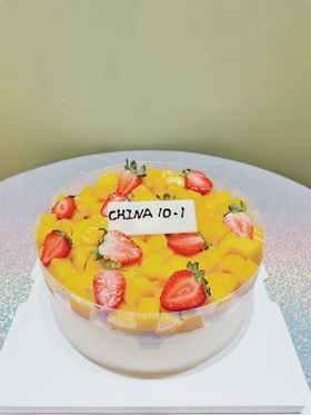 轻芝士水果蛋糕(无奶油)