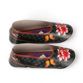 烧纸精品女纸鞋