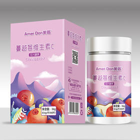 美盾蔓越莓维生素C片 0.6g/片*60片/盒