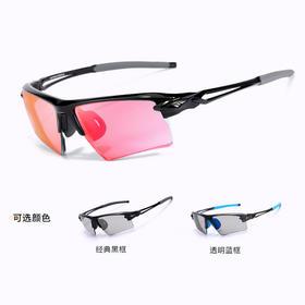 高特近视定制骑行眼镜 变色偏光镜片