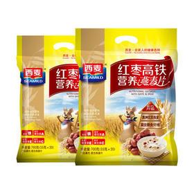 【安全配送】西麦红枣高铁营养燕麦片700g