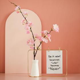 创意桌面陶瓷花瓶干花插花器摆件客厅样板房间设计师软装饰品摆设